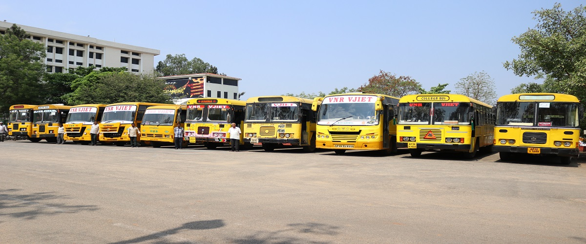 VNR VJIET Hyderabad Bus facility